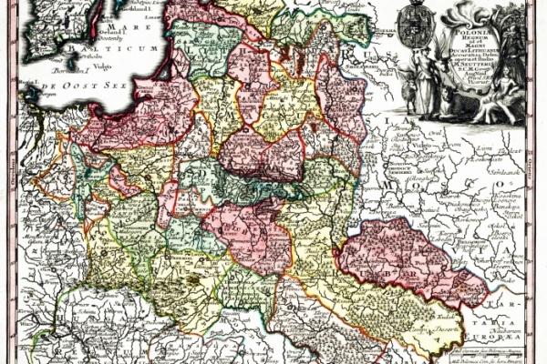 Poloniae Regnum ut et Magni Ducatus Lithuaniae Accuratiss [1728]