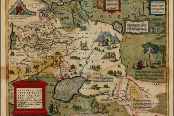 Abraham Ortelius: Russiae, Moscoviae et Tartariae